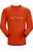 Arc'teryx M's Maple LS T-Shirt Iron Oxide